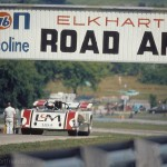 1971 Elkhart Lake, Road America Can-Am Challenge - Jackie Stewart at full speed in the Lola T260-Chevrolet. The race was won by Peter Revson for McLaren; photographed by Carl Knopp, USA
