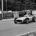 1954 Bern, Grosser Preis der Schweiz - Hans Herrmann finished 3rd in the Mercedes W196; photographed by Manfred Gygli, AT