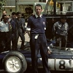 1963 Pau, XXII Grand Prix Automobile de Pau – R.R.C. Walker Racing Team owner and gentleman Rob Walker poses with the Cooper T60-Climax FWMV V8 for Jo Bonnier